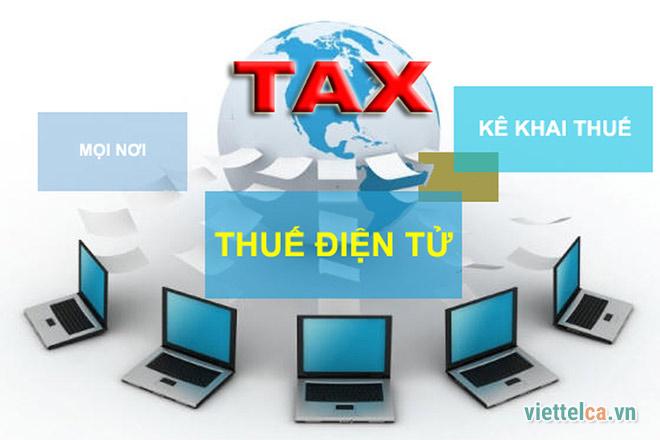 Nộp thuế điện tử bằng chữ ký số VIETTEL CA