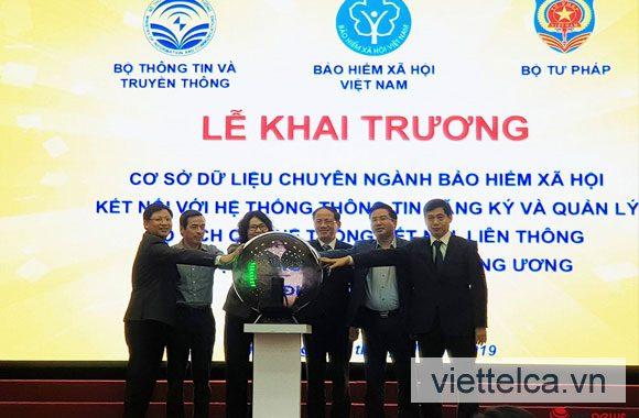 Viettel CA với BHXH Việt Nam