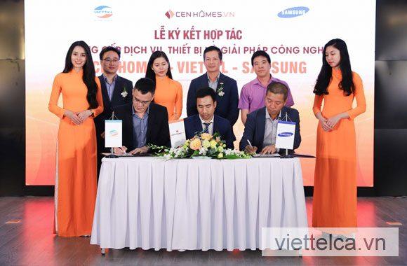 Viettel CA hợp tác Tập đoàn Samsung & Cengroup