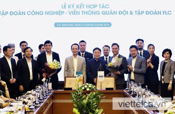Thỏa thuận hợp tác Viettel CA và Tập đoàn FLC