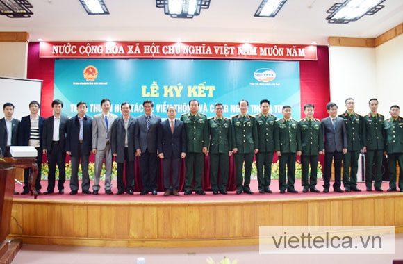 Viettel-CA ký thỏa thuận hợp tác với Tổng cục thuế