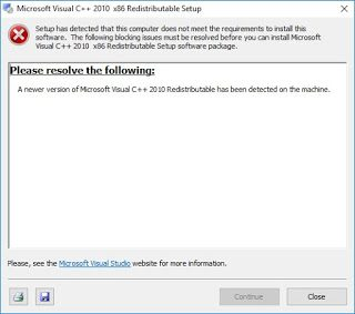 Cài phần mềm Visual C++